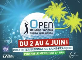 OPEN DE SAINT FRANCOIS � REGION GUADELOUPE 2016 - Order of Play for Round 3
